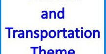 Vehicles & Transport, Special Education & Autism Activities / Vehicle Theme Autism and Special Education language, math, STEM & craft activities, ideas and resources, for classroom & home school.