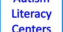 Autism Literacy Centers & Activities / Language and Literacy Skills lessons, activities and ideas for autism, special education and resource rooms