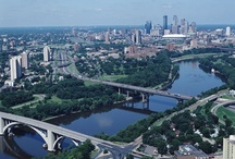 Twin Cities / My home town: from Minneapolis to LaCrosse, WI. It's all one big 150 mile, beautiful place to live.