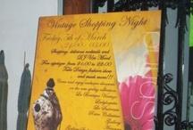 I VINTAGE SHOPPING NIGHT / Primera edición del Vintage Shopping Night de Barcelona en el Hotel Casanovas  donde se mezcla showroom de tiendas Vintage, desfile de nuevos diseñadores, sorteo de prendas cedidas por los exhibidores  y ocio con fiesta final