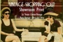 VINTAGE SHOPPING OUT / Showroom de auténtica moda vintage.  Cocktails cortesía Grand Marnier Cordon Rouge.