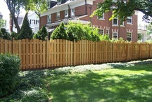 Cedar Fences by Cedar Rustic / This board is selection of Cedar Fences that have been built and installed by Cedar Rustic Fence Co.