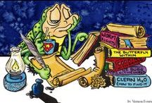CrissCross   Illos 'n Stuff / Cartoons, Illustrations & Doodles from the Studio's Pencils. V.