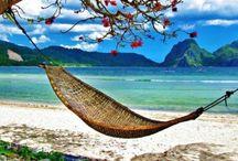 Vakantie / Als ik binnenkort een miljoen win, vlieg ik de hele wereld over....
