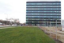 Hermes Business Campus / Hermes Business Campus este unul dintre cele mai mari proiecte de birouri din Bucuresti, demarat in 2010.In prezent OCTAGON este antreprenor general si realizeaza lucrarile de infrastructura pentru nivelurile subterane -1 si -2 si suprastructura cladirii A.