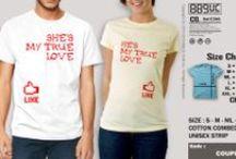 COUPLE SHIRT / kumpulan berbagai tshirt design couple yang beda dengan yang lain, keren, lucu dan unik