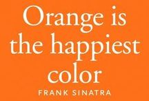 Oranje / Orange is the happiest color