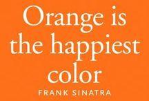 Oranje / Orange is the happiest color