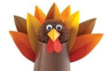 Turkeys, Turkeys, Everywhere / Thanksgiving Themed Ideas & Resources for Learning & Fun