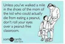 Peanut/Treenut Allergy Awareness / by Kathy Elizabeth