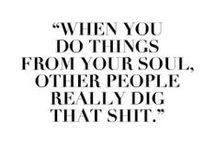 I quote...