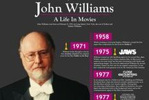 The Music of John Williams / On 13 and 14 March 2015, in Edinburgh's Usher Hall and the Glasgow Royal Concert Hall respectively, the RSNO will be performing blockbuster concerts featuring the music of the world's most successful film composer, John Williams. This board features artwork from the movies whose soundtracks we'll be playing. See http://www.rsno.org.uk/film for more information.