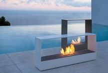 Fireplace Designs / Explore a variety of unique #fireplace #designs.