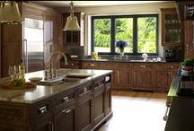 Kitchen Designs | by Dibico / A variety of kitchen designs and layouts -- designed & built by Dibico Construction, either independently or with help of designers/architects. #kitchen #kitchenlayout #construction #dibicoconstruction #dibico