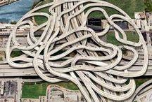 Controlled-access highway / #Expressway #高速道路  # Interchange #インターチェンジ #Service Area, SA #サービスエリア #Junction #ジャンクション