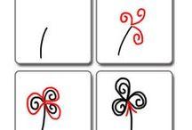 ペン画手法