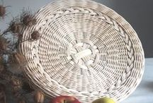 Woven, pedigové tvoření, rattan decoration, jewelry, stone / Weaving jewerly and decoration, pedigové tvoření, rattan decoration, cane weaving, christmas, rattan stone, rattan jewelry, bag, baskets, jewelry, basket