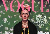 W Frida Kahlo / Frida Kahlo and inspired by Frida