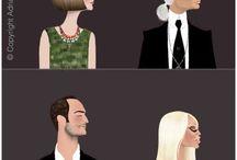 Fashion illustrations / Fashion illustration a form of ART!