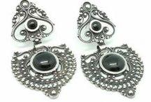Pendientes/Earrings / Pendientes fabricados en Plata de LeY 925mm/Earrings made of sterling silver 925mm
