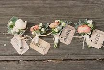 All a'Boutonniere / In general, a wedding board to inspire the man in your life. Mannish quotes, studly suits, rough and ready fashion, tender moments, gruff expressions and pretty little boutonnières!