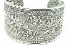 Brazaletes Pulseras/Bracelets / Pulseras elaboradas en plata de ley y piedras semipreciosas/Bracelets made of sterling silver and semiprecious stones