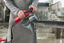 Taşlama Makinası FLEX L 12-3 100 / FLEX L 12-3 100 SULU TAŞLAMA MAKİNASI İLE GRANİT VE MERMERLERDE SULU TAŞLAMA YAPILMAKTADIR