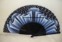 Abanicos Vintage / una nueva colección de abanicos originales...y elegantes www.elmundodececilia.com