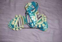 Alpargatas...Zapatillas / decoradas y pintadas a mano www.elmundodececilia.com