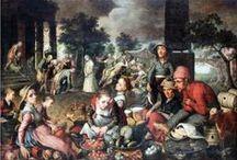 16th Century Netherlandish Market
