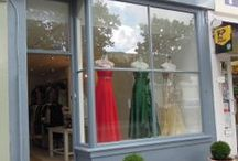Cupid Couture, 76 London Road - window displays / Photos of our window displays from our boutique in Cheltenham