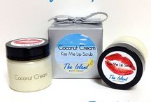 Lip Scrubs / Lip Scrubs handmade by The Island Bath and Body will make your lips super soft, silky smooth, and kissable in less than a minute!