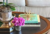 Coffee Table Styling / Without the coffee