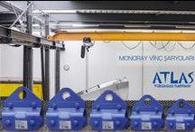 ŞARYO / Atlas vinç şaryoları profesyonel vinç şaryolarıdır. SAğlam yapılı şaryolar mükemmel performans sağlar.