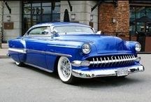Custom Cars and Lead Sleds / Customized Cars / by Rick Graham