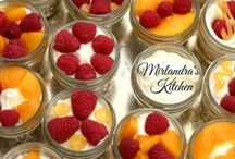 Desserts of all Kinds / Cobbler, crisp, pie, cake, cheesecake, ice cream and any other wonderful after dinner treats. / by Mirlandra's Kitchen