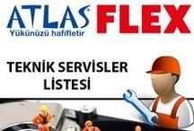 ATLAS - FLEX TEKNİK SERVİSLERİ / ATLAS ve FLEX markalarının resmi teknik servisleri Türkiye genelinde yaygın olaraka bulunmakta ve her geçen gün daha da yayılmaktadır.