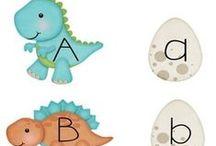Alfabet/ Alphabet / Nauka liter dla dzieci: ćwiczenia, arkusze...