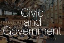 Civic and Government | Design / Reflecting Culture Through Design | Find out how we interpret our institutions with our Civic & Government Board #architecture