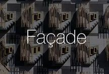 Façade / You can't judge a building by it's façade, but you can admire it | Find out how exteriors affect our perceptions with our Façade Board #architecture