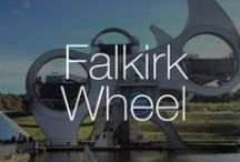 Falkirk Wheel | Buildings you must see before you die / The Falkirk Wheel is the world's first and only rotating boatlift and was created to link two canals between the east and west of Scotland. The wheel was designed to carry two boats up and two boats down the 35-metre drop in level between two canals in just 15 minutes. Completed ahead of schedule in 2002 and opened by Her Majesty Queen Elizabeth II, RMJM's design for the wheel has become a Scottish icon. The Falkirk Wheel is featured on the Scottish fifty pound note.