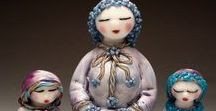 Lampwork dolls