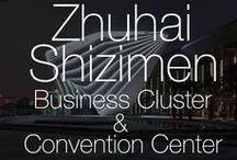 "Zhuhai Shizimen Business Cluster & Convention Centre / The new Zhuhai Convention and Exhibition Complex is a key element of the development of the wider Shizimen Business District in Zhuhai. It consists of a business and exhibition cluster of 550,000m² convention centre, exhibition centre, Class A office building, two 5-star hotels, business apartments and supporting facilities split into two sites. The design concept for the convention centre was driven by the ""city of romance"" moniker of the city, and the connection of the site to the water."