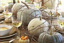 Fall Festivities / Fall into the season with flare. Ideas for the season's flavors and festivities.