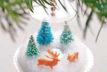 Christmas & Winter / Inspiracje prac plastycznych oraz inne materiały na Boże Narodzenie...