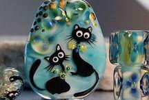 Lampwork animals