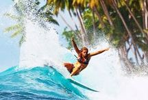 Pro Surfers / Professional surfers on and off the world tour!