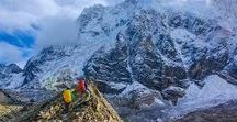 Salkantay Trek to Machu Picchu 5 Days / Witness the great Salkantay Mountain (20,533 f.a.s.t) which means Untamed, embracing its majestic sceneries as you make your way to the sacred city of Machu Picchu through the picturesque routes that go from the highlands to the jungle, On this trip, you will trek in the shadows of this impressive mountain, and you will be right beside the rugged Salkantay.