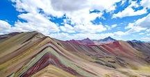 Rainbow Mountain Cusco / You'll be amazed by this unique place! for sure a must-see place. If so, let us know to help you how to get it. :)