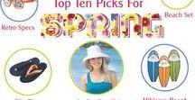 Top Ten Picks for Spring